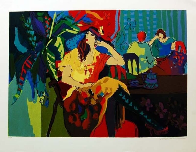 Isaac Maimon, 'Table for One', 1994, Print, Serigraph on paper, Baterbys