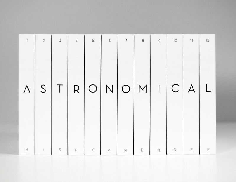 Mishka Henner, 'Astronomical', 2011, Books and Portfolios, Twelve softcover volumes, The Museum of Modern Art