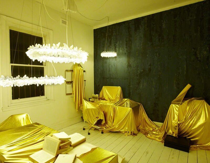 Christopher Boots, 'Diamond Ring', ca. 2012, Design/Decorative Art, Quartz Crystal, Steel, LED, The NWBLK
