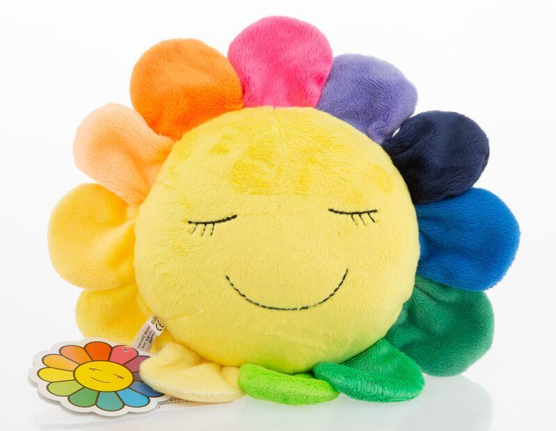 Takashi Murakami, 'Kutakuta Flower Plush (Rainbow)', Other, Polyester Plush, Heritage Auctions