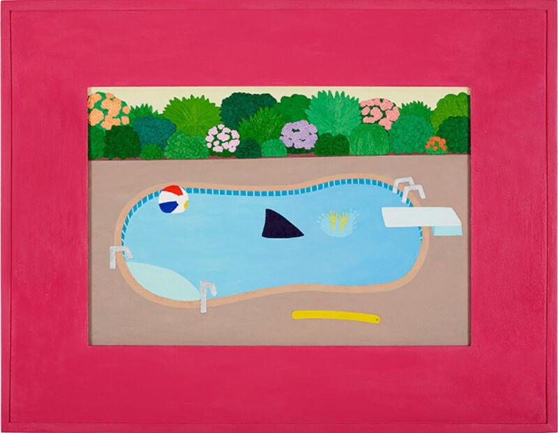 Roast Hoggmann, 'Deep Trouble', 2015-2016, Painting, Oil on framed panel, Craig Krull Gallery