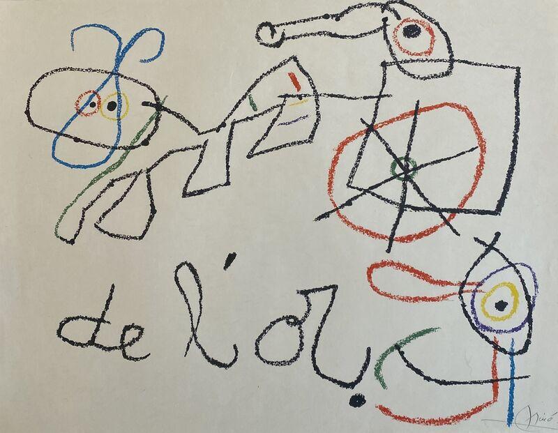 Joan Miró, 'Ubu aux Baleares I', 1971, Print, Lithograph on Japon Paper, Denis Bloch Fine Art