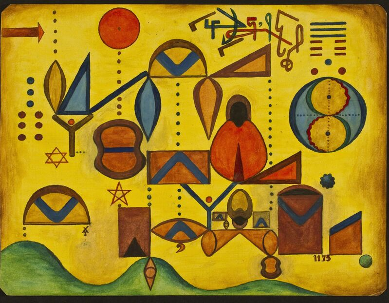 Xul Solar, 'Grafía', 1958, Painting, Tempera, Galería Rubbers Internacional