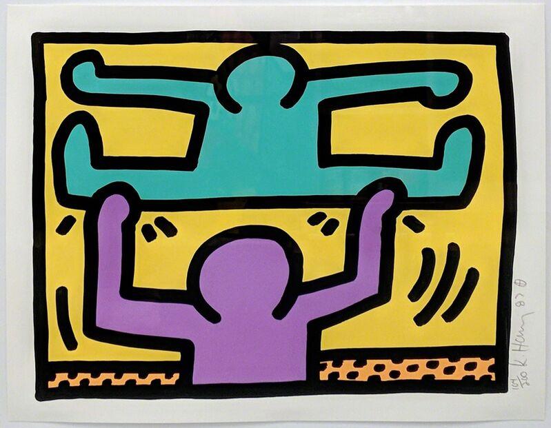 Keith Haring, 'POP SHOP I (2)', 1987, Print, SILKSCREEN, Gallery Art