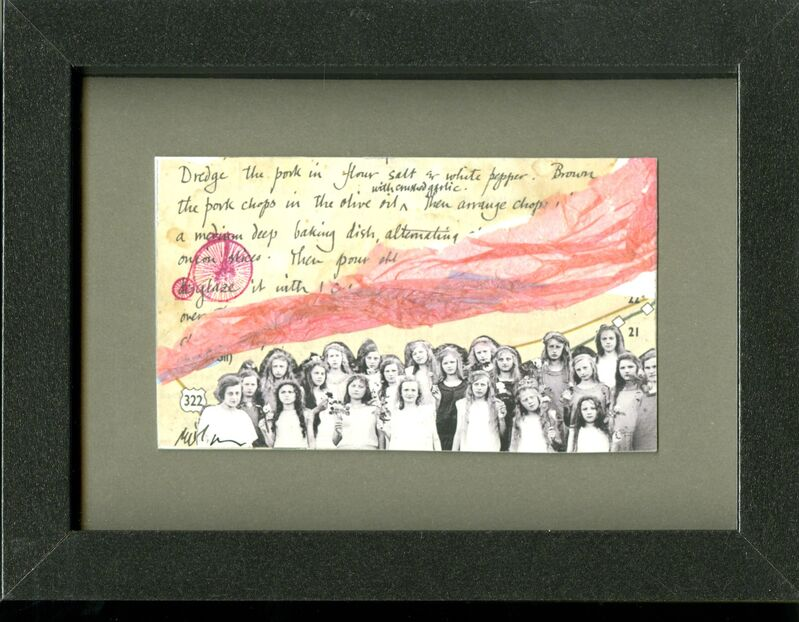 Stephen Millner, 'Postcard Collage', Drawing, Collage or other Work on Paper, Collage, InLiquid