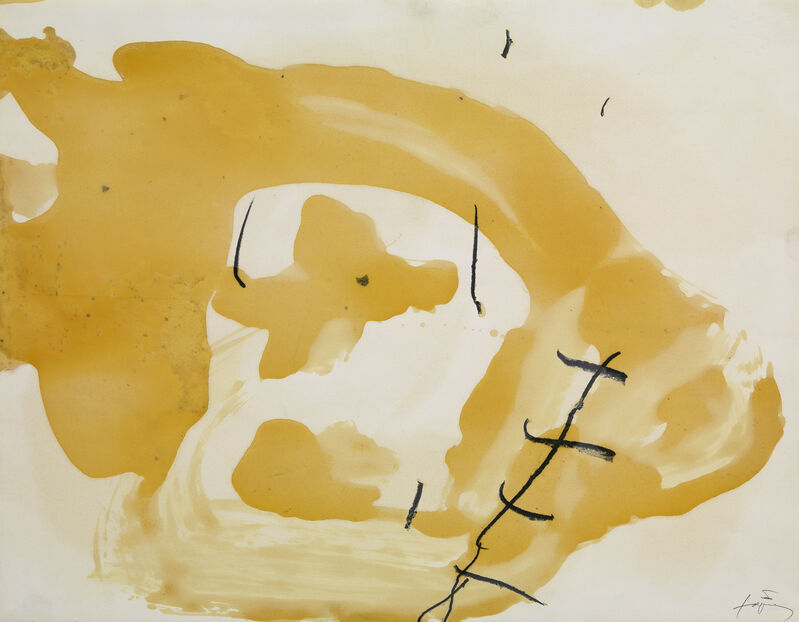 Antoni Tàpies, 'Vernis III', 1989, Drawing, Collage or other Work on Paper, Painting and pencil on paper, Galerie Lelong & Co.