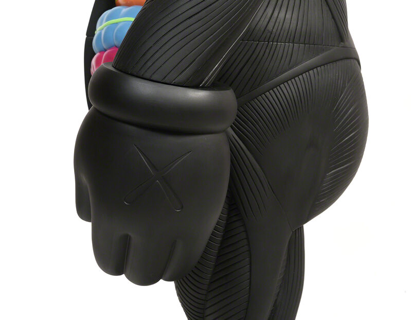 KAWS, 'FOUR FOOT DISSECTED COMPANION (Black)', 2009, Sculpture, Painted cast vinyl, DIGARD AUCTION