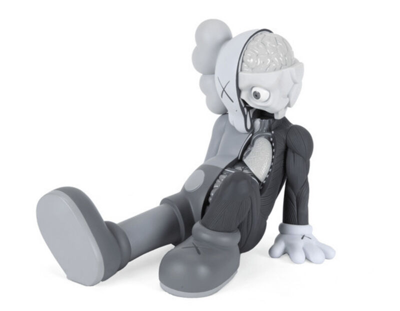 KAWS, 'Resting Place (Gray)', 2013, Sculpture, Vinyl, Dope! Gallery