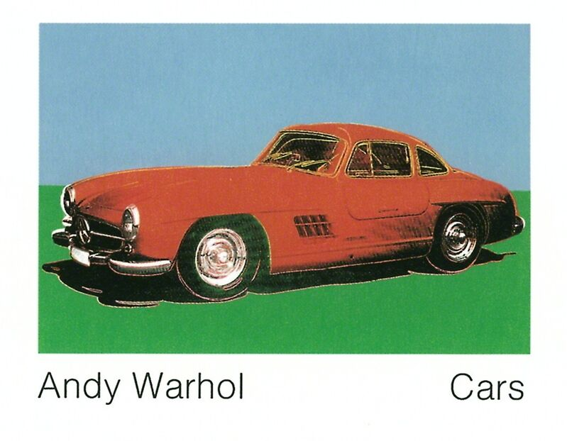 Andy Warhol, '300 Sl Coupe (1954) (Lg)', 1989, Posters, Offset Lithograph, ArtWise