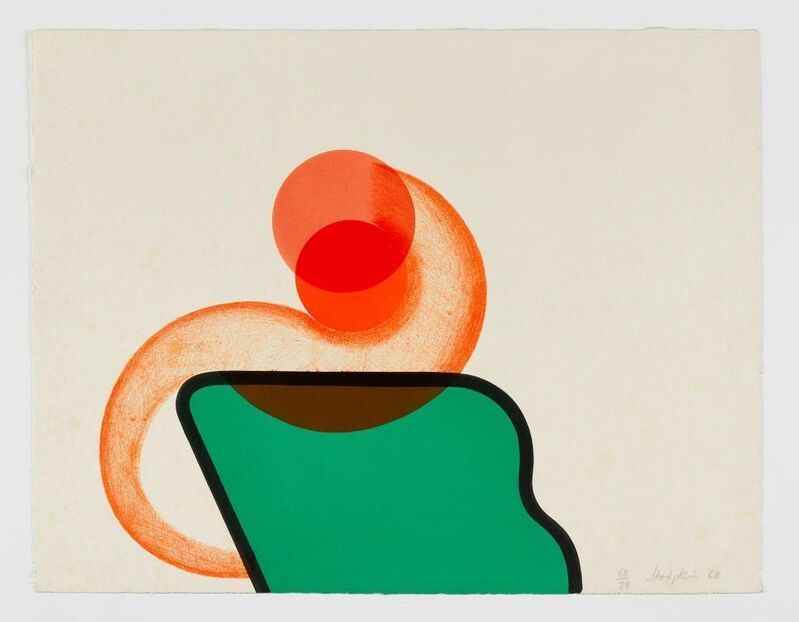 Howard Hodgkin, 'Bedroom', 1966, Print, From a series of 5 lithographs on paper, Cristea Roberts Gallery