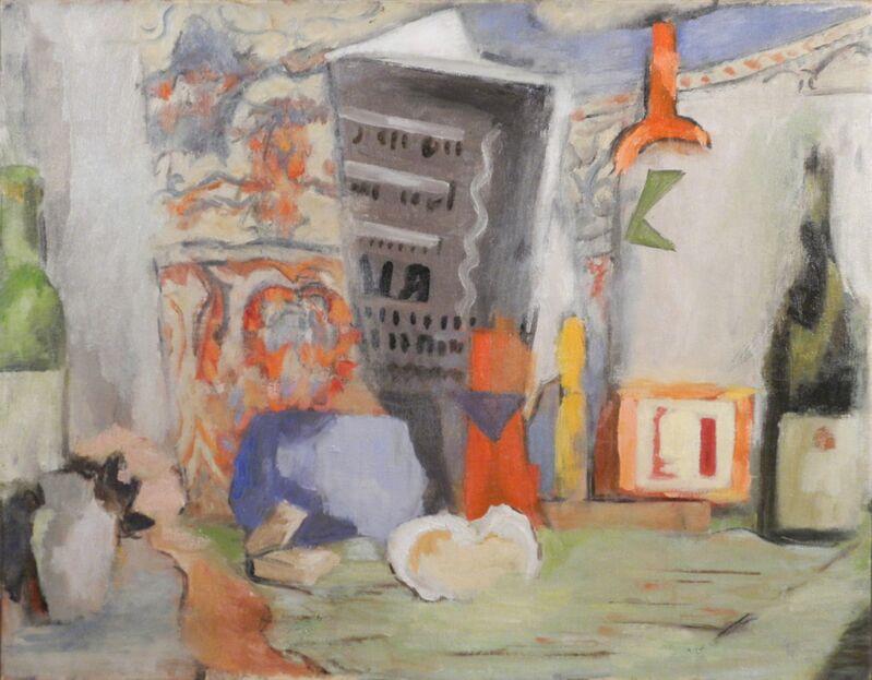 Alma Thomas, 'Still Life with Bottles', 1955, Painting, Oil on canvas, Hemphill Artworks
