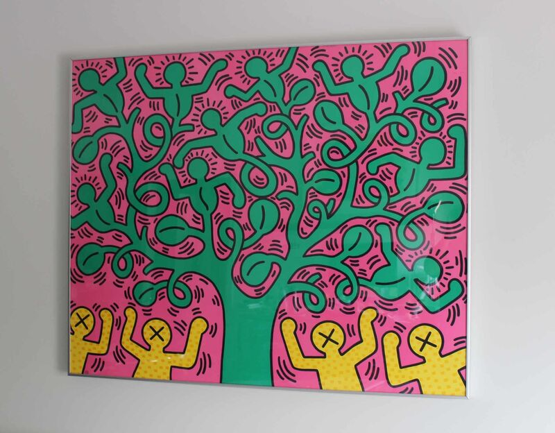 Keith Haring, 'Tree of Life poster', ca. 1993, Posters, Offset lithograph, EHC Fine Art