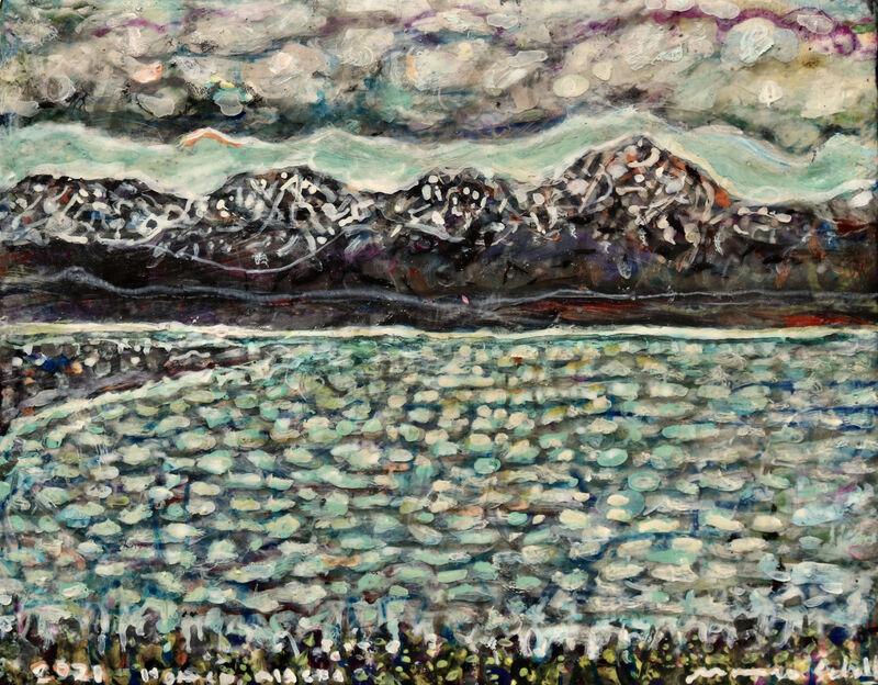Marjorie Scholl, 'Homer, Alaska', 2021, Painting, Acrylic on canvas, McVarish Gallery