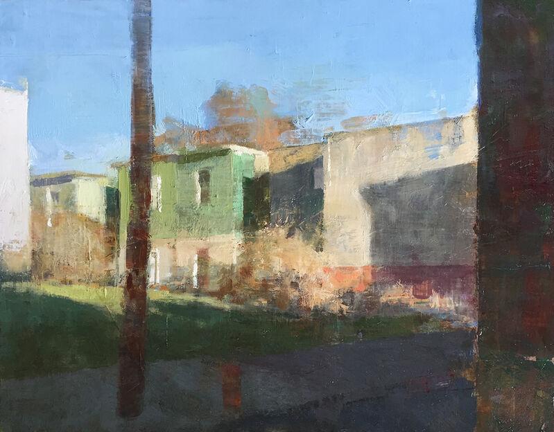 Jon Redmond, 'Strawberry Mansions', 2018, Painting, Oil on board, Somerville Manning Gallery
