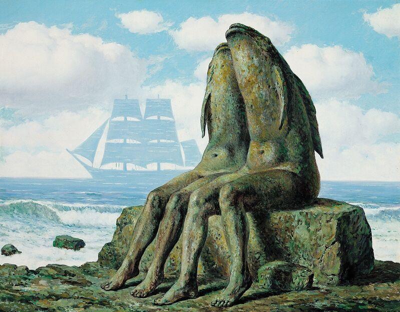 René Magritte, 'Les Merveilles de la nature', 1953, Painting, Oil on canvas, Centre Pompidou