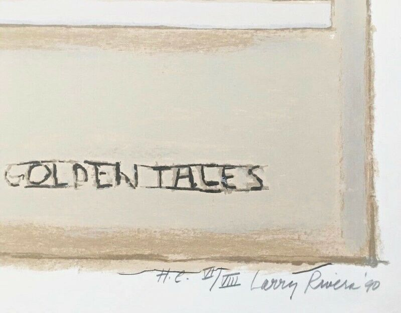 Larry Rivers, 'Golden Tales', 1990, Print, Lithograph with hand coloring on wove paper, Art Commerce