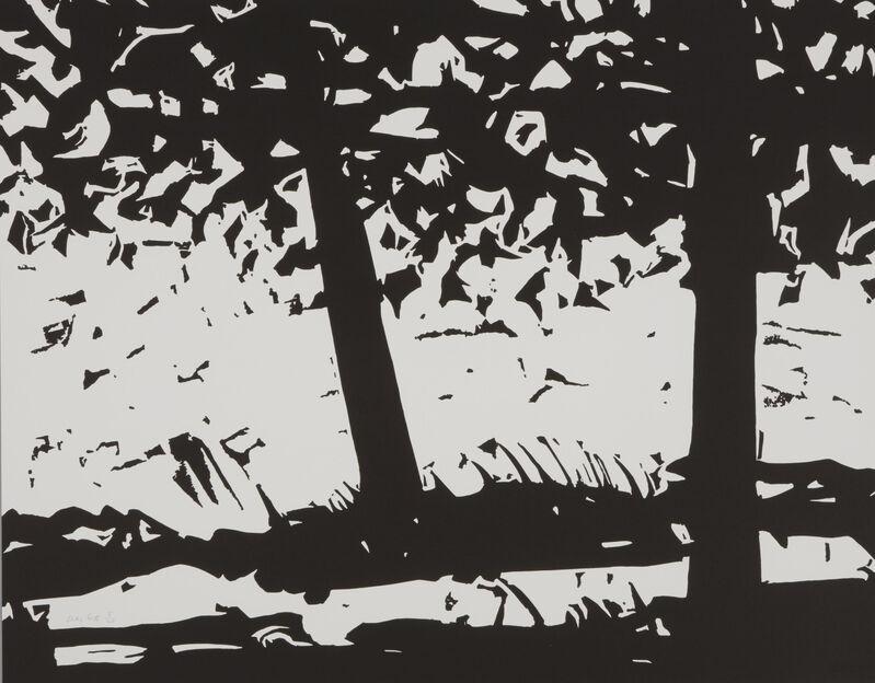 Alex Katz, 'Maine Woods', 2013, Print, Woodblock on Somerset satin white 300 gsm paper, Artsy x Capsule Auctions