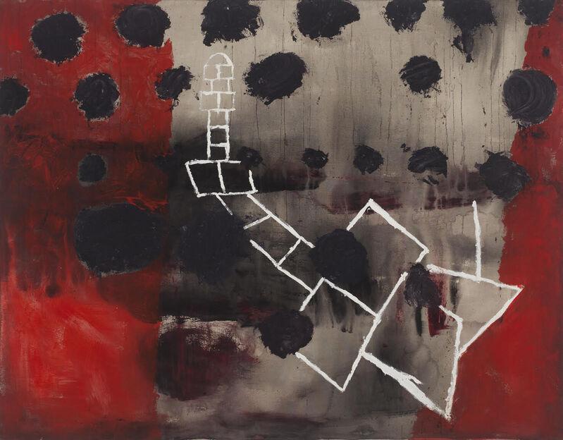 Marsha Nouritza Odabashian, 'Hopscotch, 1994', 2021, Painting, Acrylic Paint on Canvas, Galatea Fine Art