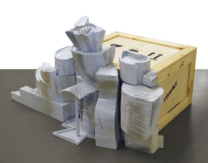 Sergei Shekhovtsov, 'Museum box (Bilbao)', 2013, Sculpture, Styrofoam, acrylic, wood, foam rubber, mixed media, XL Gallery