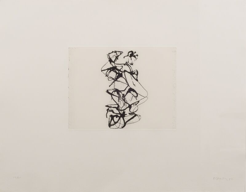 Brice Marden, 'Cyprian Evocation', 1992, Print, Etching and aquatint, Susan Sheehan Gallery