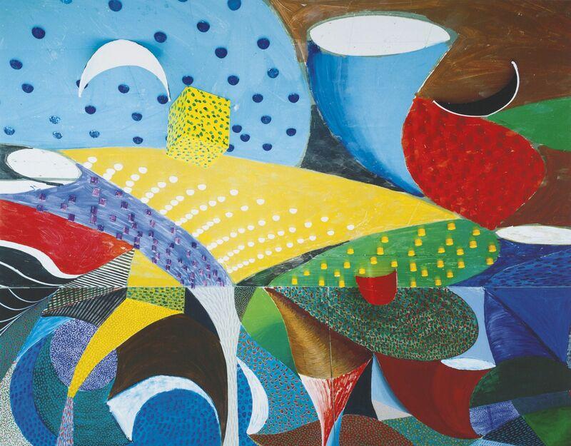 David Hockney, 'Fourth Detail March 25th, 1995', 1995, Print, Digital Inkjet Print, Robert Miller Gallery