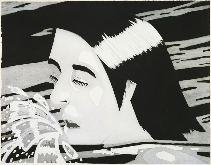 Alex Katz, 'The Swimmer', 1974, Print, Aquatint, Elizabeth Clement Fine Art