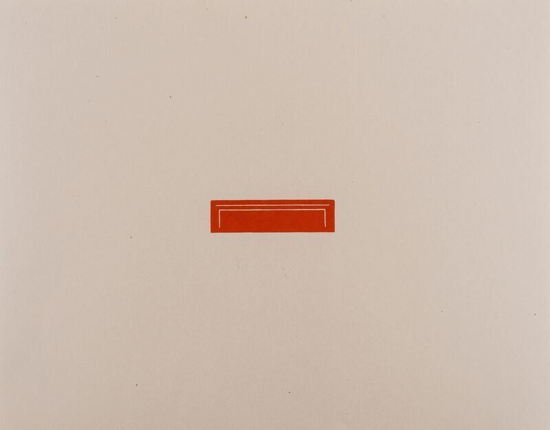 Fred Sandback, 'Untitled', 1976, Print, Offset lithograph printed in colours, Forum Auctions