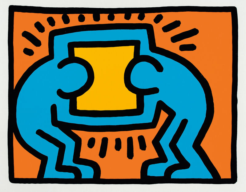 Keith Haring, 'Pop Shop VI: one plate', Print, Screenprint in colors, on wove paper, with full margins., Phillips