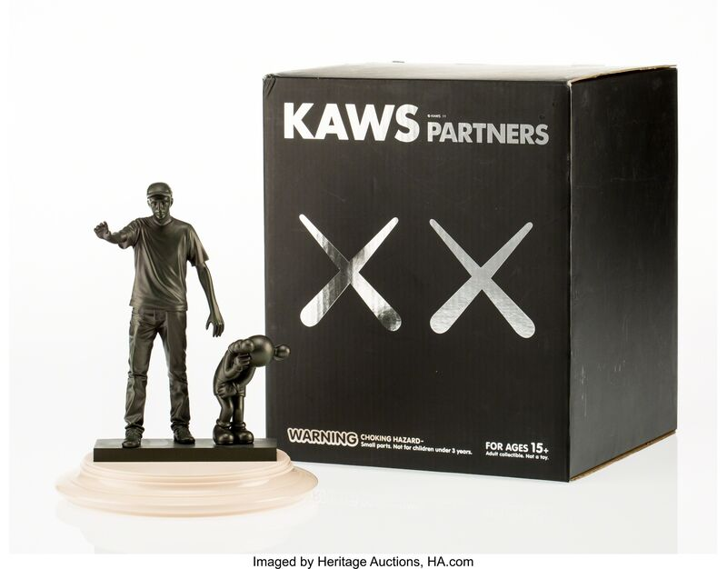 KAWS, 'Partners', 2011, Other, Painted cast vinyl, with plastic base, Heritage Auctions