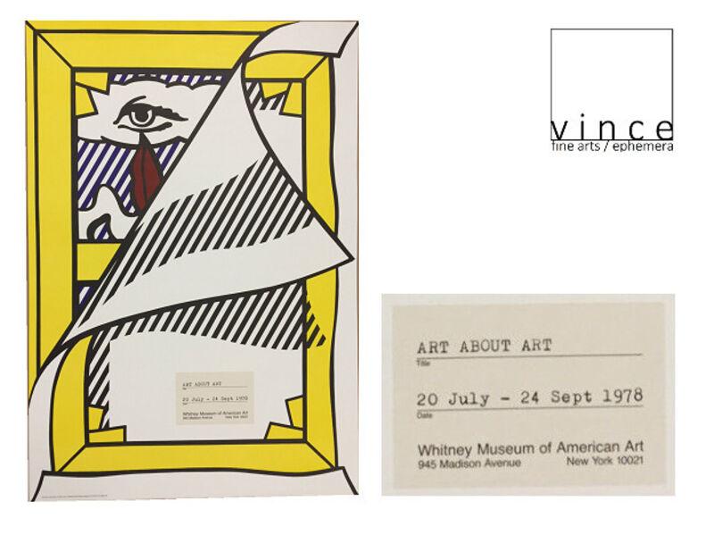 "Roy Lichtenstein, '""Art About Art"", Whitney Museum of American Art, Exhibition COLLAGE Poster', 1978, Ephemera or Merchandise, Offset Lithograph on Poster Paper, VINCE fine arts/ephemera"