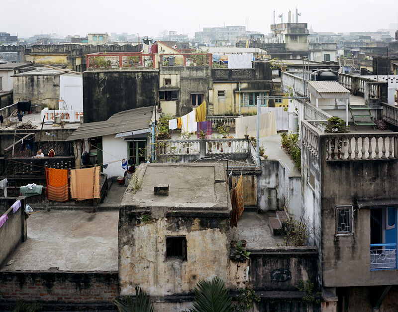 Laura McPhee, 'View from the Roof of the Dawn House, North Kolkata', 2005, Photography, Archival pigment ink print, Benrubi Gallery