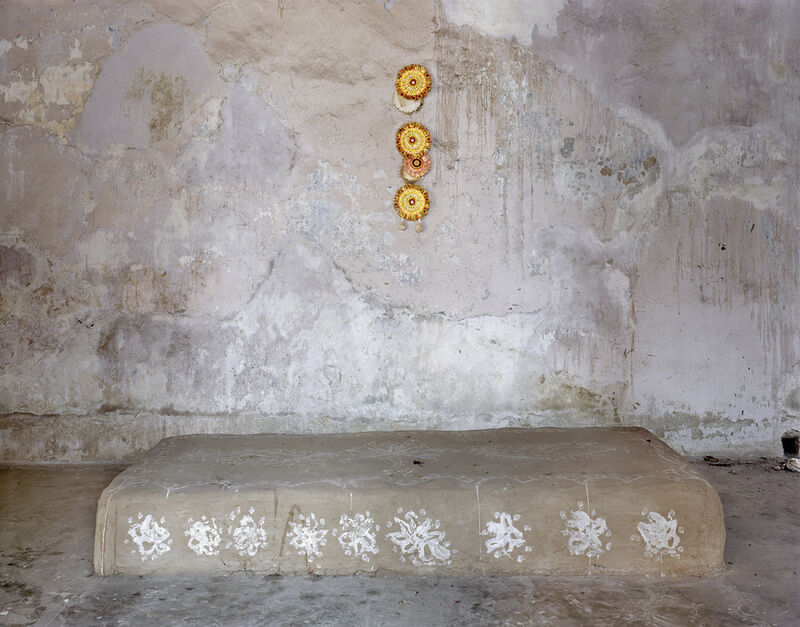 Laura McPhee, 'Oldest Thakur Dalan (Hall of Worship) in the City, Mitra House, North Kolkata', 2005, Photography, Archival pigment ink, Benrubi Gallery