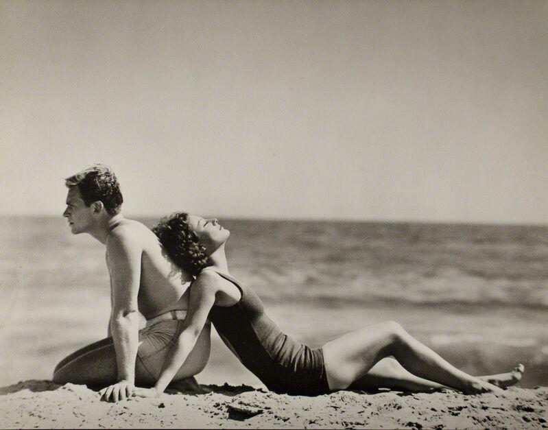 Nickolas Muray, 'Douglas Fairbanks, Jr. & Joan Crawford', ca. 1930, Photography, Gelatin silver print, George Eastman Museum