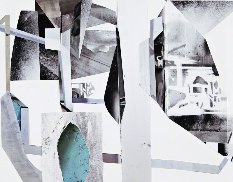 Yamini Nayar, 'Untitled 1 (Malleable Structures)', 2013, Drawing, Collage or other Work on Paper, Photographic collage on paper, Jhaveri Contemporary