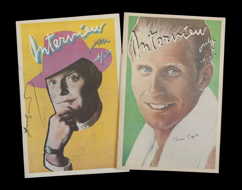 Andy Warhol, 1979, Print, Two Interview Magazines, Volume IX No. 1 & Volume IX No. 7 from 1979, Julien's Auctions
