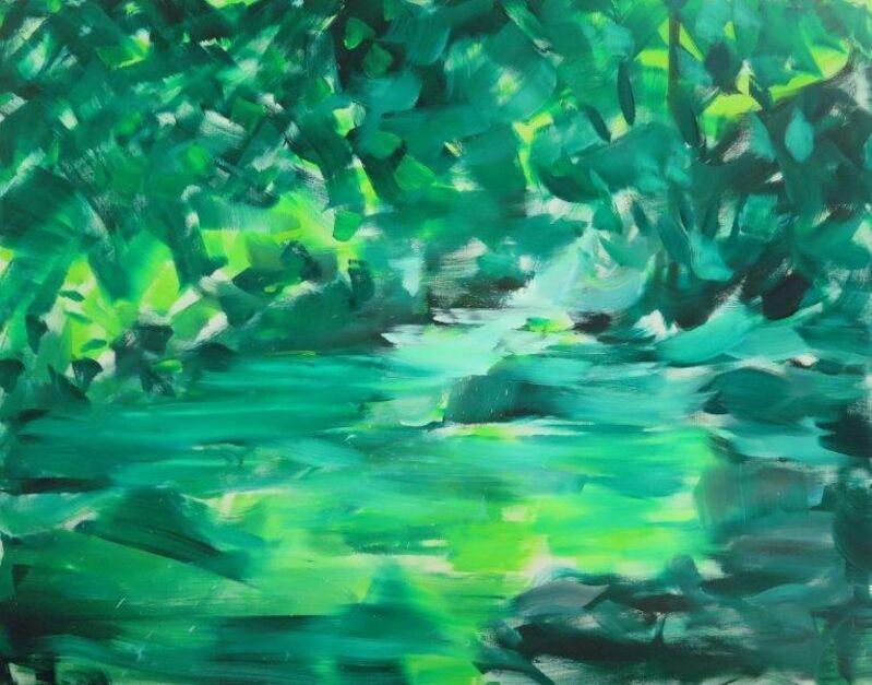 Herbert Brandl, 'Untitled', 2014, Painting, Oil on canvas, Galeria Filomena Soares