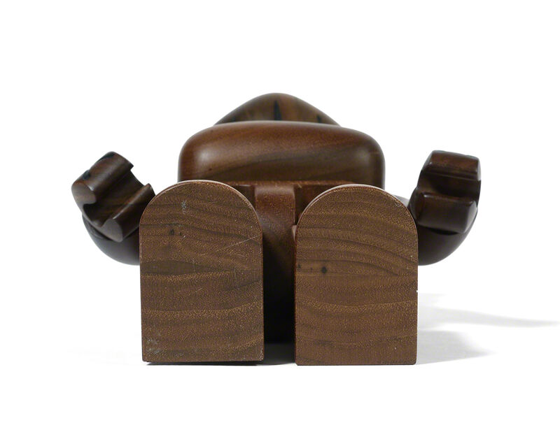 KAWS, 'BEARBRICK BWWT 400 %', 2005, Sculpture, Karimoku wood, DIGARD AUCTION