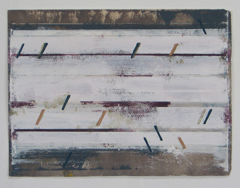 Brian Dupont, 'traccia 8', Drawing, Collage or other Work on Paper, Mixed Media, Adah Rose Gallery
