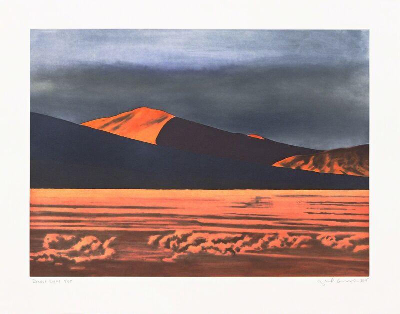 April Gornik, 'Desert Light', 2015, Print, Soft ground, aquatint and spitbite aquatint etching and burnishing, Pace Prints