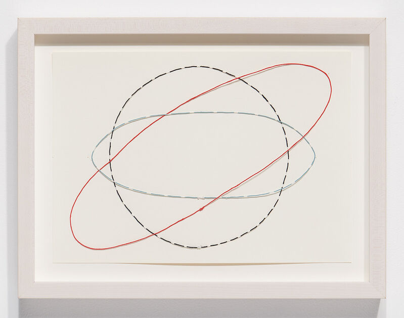 Nina Katchadourian, 'Equator Drawing #3', 2020, Sculpture, Paper-covered wire painted with gouache, Catharine Clark Gallery