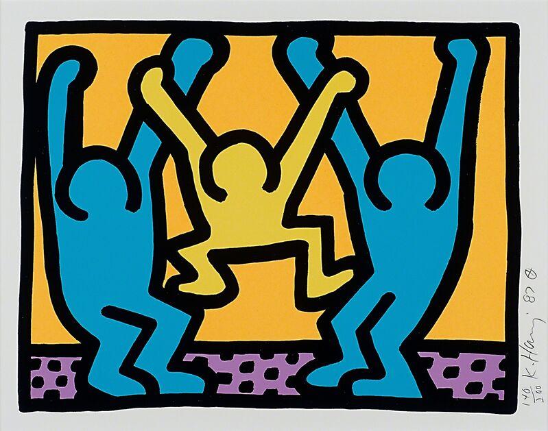 Keith Haring, 'Pop Shop 1', 1987, Print, Screenprint in colors, Rago/Wright