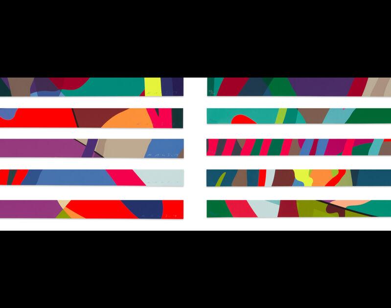 KAWS, 'TENSION', 2019, Print, Screenprint in colours on Saunders Waterford paper, Adelia Art Gallery
