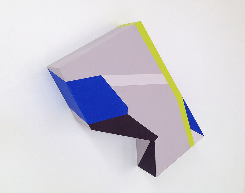 Zin Helena Song, 'Polygon in Space #3', 2013, Painting, Acrylic on wood panel, River