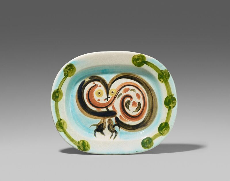 Pablo Picasso, 'Wood-owl', 1948, Design/Decorative Art, White earthenware clay, polychromed and glazed, Van Ham