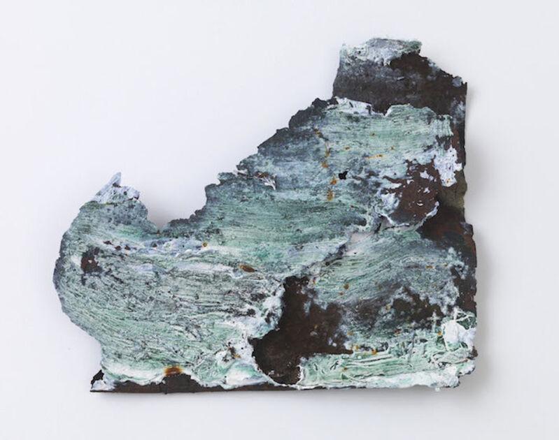Louise Fishman, 'Untitled', 2011, Painting, Acrylic on rusted metal, ICA Philadelphia