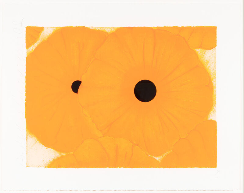 Donald Sultan, 'Six Yellows', 2002, Print, Screenprint with flocking, Leslie Sacks Gallery
