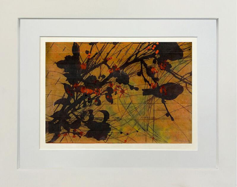 Judy Pfaff, 'Untitled #9', 2008, Print, Etching, relief, archival inkjet, hole punching, Toshkova Fine Art Advisory