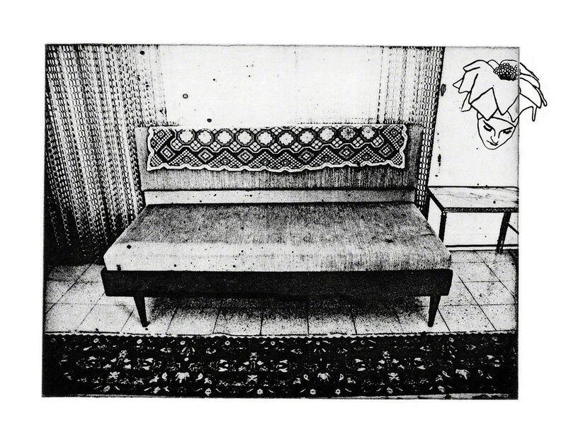 Aya Ben Ron, 'Margalit', 2007, Photography, Photo etching, Contemporary by Golconda