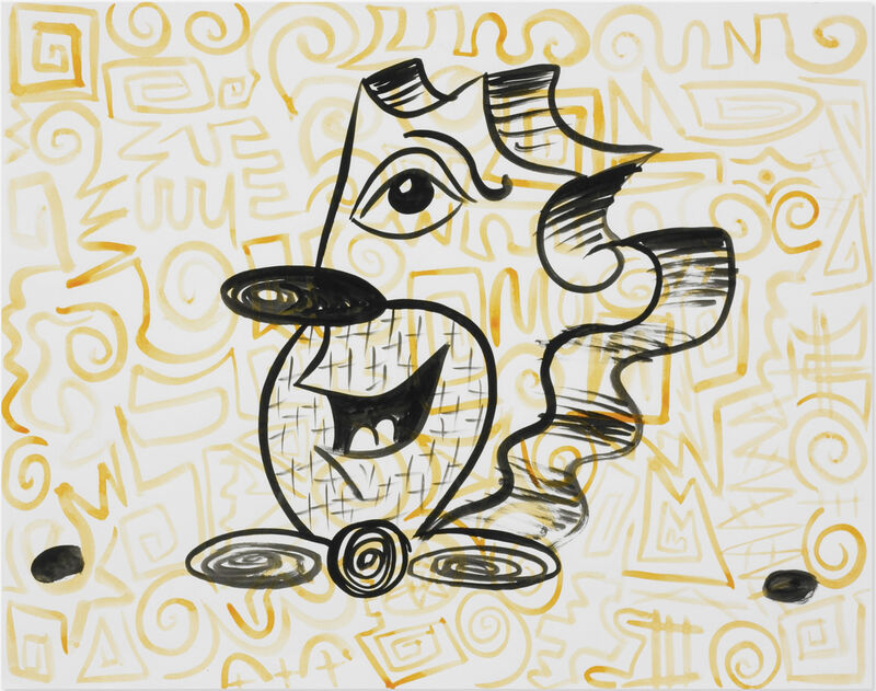 Kenny Scharf, 'AMAZING!', 1983, Drawing, Collage or other Work on Paper, INK ON PAPER, Rosenfeld Gallery LLC