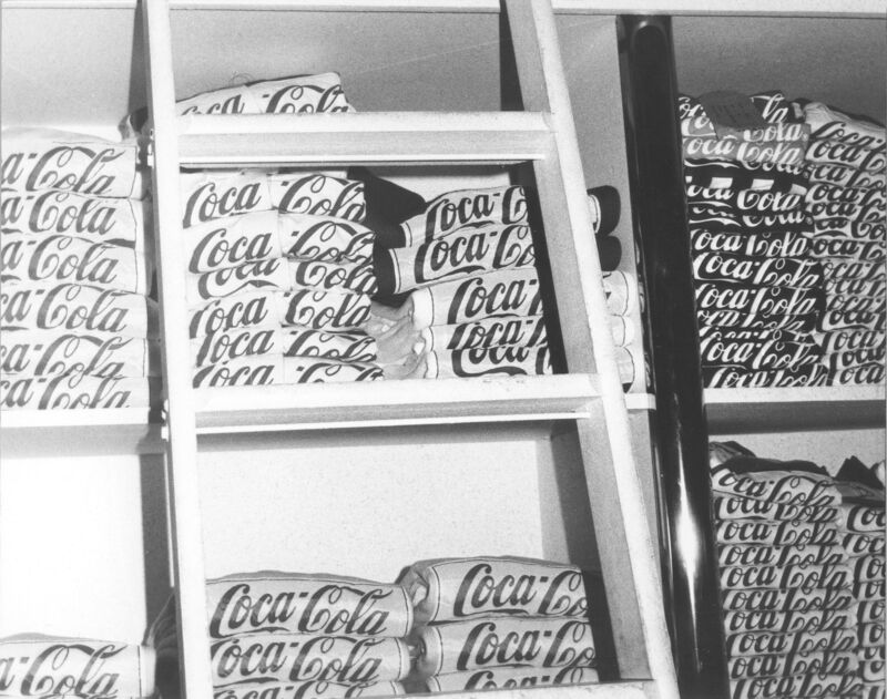 Andy Warhol, 'Coca Cola Shirts', ca. 1980, Photography, Silver gelatin print on paper, Galerie Andrea Caratsch